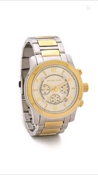 Authentic Michael Kors oversized runway watch Pointe-Claire, H9R