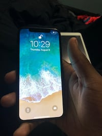 Black iPhone X AT&T (not unlocked) cash or cash app Wesley Chapel, 33544