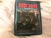 DVDs: Sopranos The Complete Fifth Season DVD case Woodbridge Township, 07095