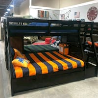 Twin Full Bunk bed frame  Las Vegas, 89109