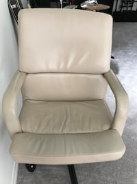 Used Tan Leather Executive Chair Newmarket, L3X 0K5