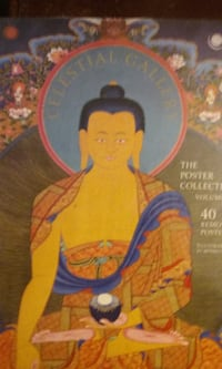 Buddhist celestial gallery poster collection 40 prints Hamburg