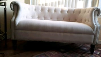 Love seat length 52 inches, hight 29.5