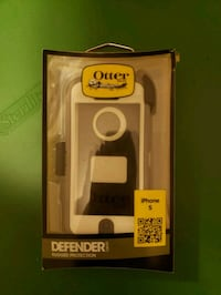 white and black OtterBox Defender Series for Samsung Galaxy S9 Lynn, 01905