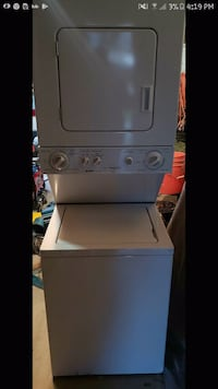 white stackable washer and dryer Colorado Springs, 80906
