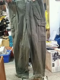 Army Wool Fatigues Pants 1958 Toronto, M4E 3R9
