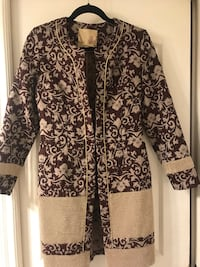 black and white floral long sleeve dress Burnaby, V3N 2S4