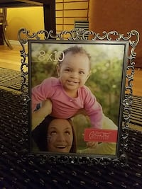8X10 New Silver frame.