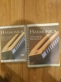 Harmonica teaching video and book Mississauga, L5W 1B1