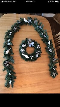Brand new custom made wreath/garland set  Edmonton, T5X