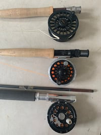 3 fly rod and reel set Lake Bluff, 60044