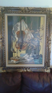 Beautiful painting in frame Montréal, H8Y 1Z9