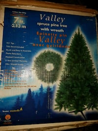 GUC 7 ft Christmas tree for sale Surrey, V3W 3M7