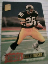 NFL LEGEND ROD WOODSON CARD Washington