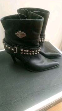 HARLEY DAVIDSON LADIES LEATHER BOOTS  Fort Erie, L0S 1B0