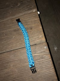 blue and black leather belt Quapaw, 74363