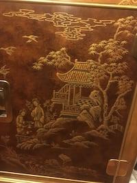 Asian-Inspired Drexel Heritage China Cabinet Frederick, 21701