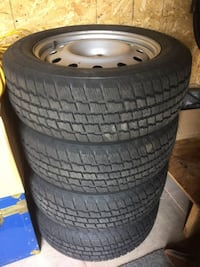 4 Cooper Weather Master S/T2 (225/60R17) Winter Tires with Rims MISSISSAUGA