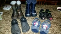 5 pairs of BOYS footwear - all SIZE 10 Whitby, L1R 2C1