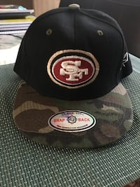 black and gray San Francisco 49ers fitted cap Sacramento, 95841