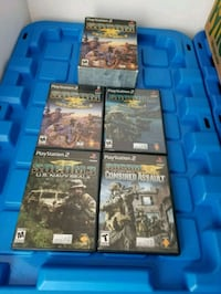 assorted Sony PS4 game cases Montréal, H4G 3G3