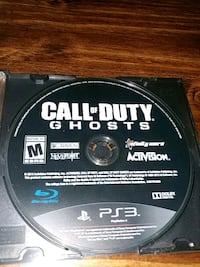 PS3: COD Ghosts Barrie, L4N 2P3