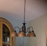 Bronze uplight chandelier Louisville, 40241