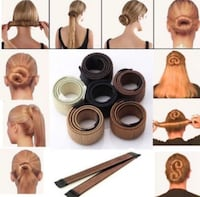 Hair Bun Maker BLONDE 2pcs Oslo