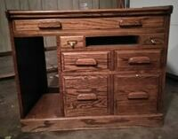 HEAVY-DUTY DESK!!! UNIQUE AND Lookes GREAT