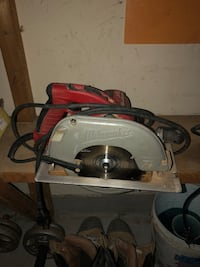 Milwaukee 7 1/4 skillsaw. Only used once! $95obo King, L7B 1C2