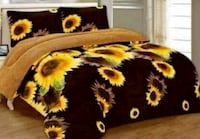 black and yellow floral textile Houston, 77092