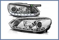 FAROS REAL DRL CROMO VOLKSWAGEN GOLF MK6 MADRID