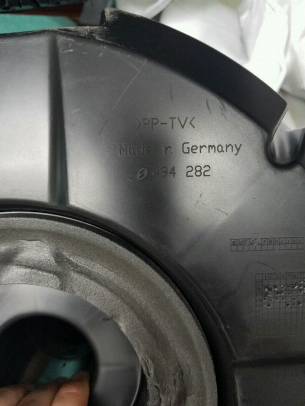 Bose subwoofer from Audi Q7