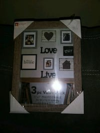 3 5X7 wooden picture frames