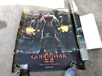 God of War 2 game poster Lexington, 40509