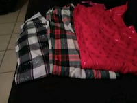 red and white plaid button-up shirt 2272 mi