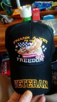 Brand new vets ball cap.Good deal on these ball caps.