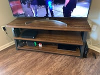Wood and Metal entertainment stand Fort Mill, 29707