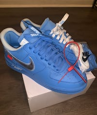 Off-White x Nike MCA Air Force 1 US Size 8.5 Mens Riverdale, 30274
