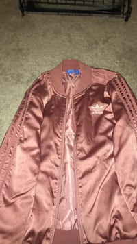 Nude /pink zip-up jacket