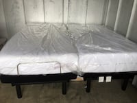 2) Ashley twin memory foam mattresses, Adjustable with  remote control will sell separately or together! Read description for further information! Will deliver!!!!!! Wappingers Falls, 12590