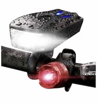 Brand new Bicycle Headlight, USB Rechargeable 5 Modes Led Bike Light