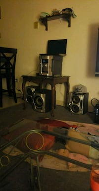black and gray home theater system Denver, 80204