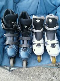 **PRICE REDUCED**Two pairs of Rollerblades  Surrey, V3W 5L3