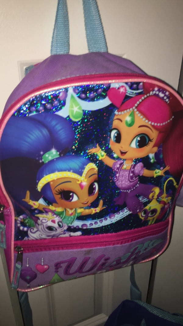 Used multicolored Wish graphic backpack for sale in Port Saint Lucie ... 517363e25