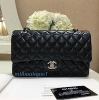 quilted black Chanel leather crossbody bag Brossard, J4Z 3C2