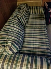 white, green, and red plaid fabric sofa Smithsburg, 21783