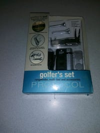 GOLFER'S SET RANGEFINDER, MULTI-TOOL AND ACCESSORIES FROM PROTOCOL NEW Naperville, 60563