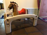 Rocking horse with infant seat  Riverside, 92507
