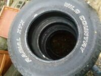 A set of 4 265 70 17 truck or SUV tires Mechanicsburg, 17055